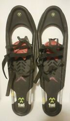 Tubbs Quest Snowshoes 30quot; x 9quot; Adult Back Country Snow Shoes Made In USA $99.95