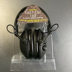 NO BOX 3M Peltor Tactical 100 Electronic Hearing Protector NRR 22 dB Black $49.00