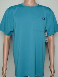 Genuine Dickies #10491 NEW Men#x27;s Short Sleeve Relaxed Fit Cool Pocket Tee Shirt $8.99