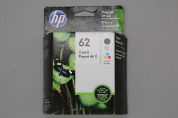 Genuine HP 62 Black and Tri Color Combo Cartridges