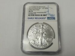 2016 W American Eagle Burnished Lettered Edge NGC MS70 Early Release 30th $149.99