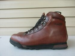 Vasque Hiking Boot 12 Mens Leather Brown $69.90