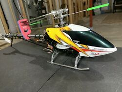 Thunder Tiger E325 MiniTitanV2RC Helicopter Used.similar To ALIGN TREX 450parts $235.00