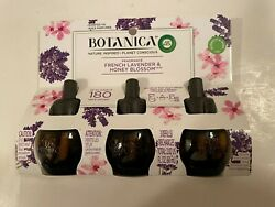 Botanica by Air Wick Plug in Scented Oil Refill 3ct French Lavender and Honey $7.99