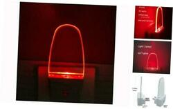 4 Pack Auto Nightlight Lamp with Dusk to Dawn Sensor for Bedroom Plug in Red $23.72