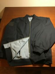 5.11 quot;Revolverquot; Jacket Flight motorcycle style Reversible Blue Large Men#x27;s $80.00