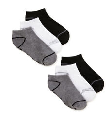 NEW Reebok Boys Socks 6 Pack Lowcut Socks Sizes Large 4 10 $12.99