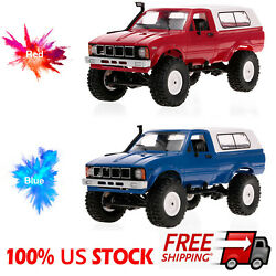 WPL C24 1 16 RC Car Crawler Off Road Headlight 4WD Pick up Truck Gift RTR C4F2 $48.44