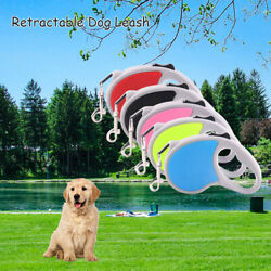 Automatic Retractable Dog Leash 10 16ft Tangle Free Durable Rope UP to 66 lbs $7.99