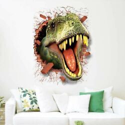 Wall sticker Pattern Wall Kids Room Tyrannosaurus Best Seller Hot Sale C $13.48