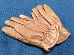 Vintage Perrone Leather Gloves Women's Large $9.99