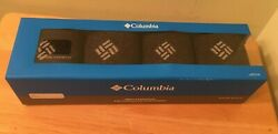 Columbia Men's Size 6 12 Socks Moisture Control Ribbon 4 Pack *FAST SHIPPING* $11.95