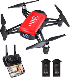 SANROCK H818 Mini Drones for Kids RC Quadcopter with 720P Real time Camera Sup $49.51