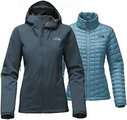 THE NORTH FACE Thermoball Triclimate Womens XL Ink 3 in 1 Jacket Coat Parka $299 $199.99