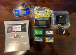 Prestige Con. Gameboy Micro With Box amp; Original Charger — Selling for $GME $750.00