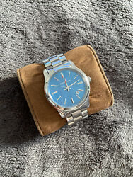 Michael Kors Stainless Steel amp; Blue Runway Watch MK5914