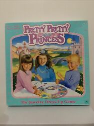 Pretty Pretty Princess Jewelry Dress Up Board Game 1990 Select Pieces
