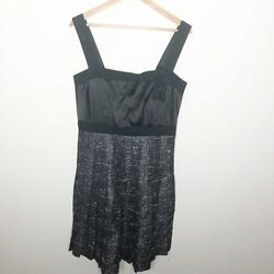 Max and Cleo black cocktail dress size 10 $50.00