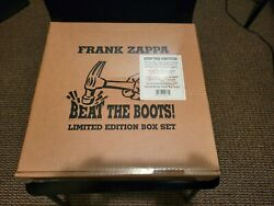 FACTORY SEALED FRANK ZAPPA: BEAT THE BOOTS  FOO EEE Records 12quot; LP $599.95