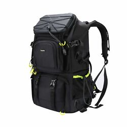 Endurax Extra Large Camera DSLR SLR Backpack for Outdoor Hiking Trekking with... $150.61