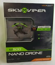 New Sky Viper Micro Series M500 Nano Drone with Flight Assistance $15.30