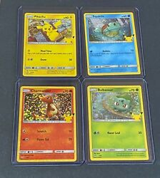 McDonalds POKEMON 25th Anniversary HOLO cards You Pick Complete your Set 2021 $19.00