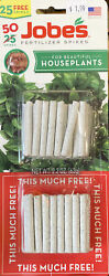 Fertilizer Spikes For Houseplants Jobes 50 Spikes NEW In Package $1.99