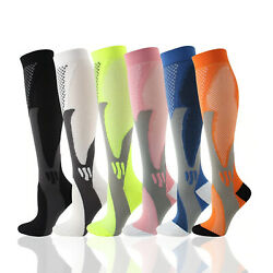 Medical Compression Socks Womens Mens Knee High Pain Relief Leg Foot Support $6.97