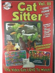 Cat Sitter 3 DVD New Still Sealed Christmas For Pets $9.43