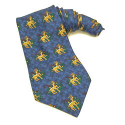 Rudolph Company Christmas Novelty Tie Reindeer Holiday Party $12.00