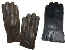 Men#x27;s Leather Gloves Zip up Men#x27;s Gloves Winter Gloves lined warm Gloves #160 $14.95