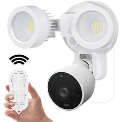 Google Nest Cam Outdoor Remote Control Floodlight Charger Mount Smart Security $69.99