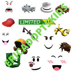 ROBLOX Limiteds: Cheap Clean Rare Limited Collectibles READ DESCRIPTION $300.00