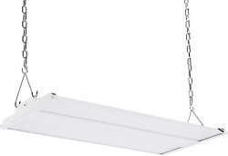 Commercial Led Linear High Bay 90 Watt 50000 Hours Dimmable 0 10V 12000 Lume
