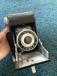 Tower Folding Camera Vintage Antique with Original Box and Instructions $36.99