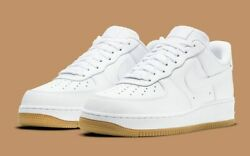 Nike Air Force 1 #x27;07 Shoes White Gum Sole DJ2739 100 Men#x27;s NEW $134.90