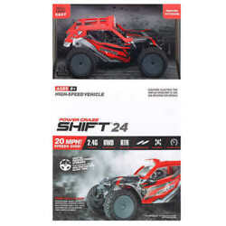 Power Craze Shift 24 Mini RC High Speed Buggy RED $24.00