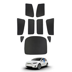Car Side Window Sun Shades Sun Visors Skylight Shades For Tesla Model X