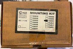 AZZ 53051 Mounting Kit End Brackets for ML MLS MHL MHLS Series LED Fixtures