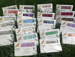 Color Street Nail Strips Free Ship w Tracking on Every order NEW 2021 Spring $12.96