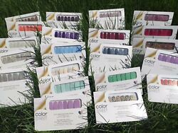 Color Street Nail Strips Free Ship w Tracking on Every order NEW 2021 Spring $14.96