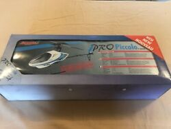 Ikarus Piccolo Pro RC Helicopter *NEW IN BOX* plus some spare parts and upgrades $199.99