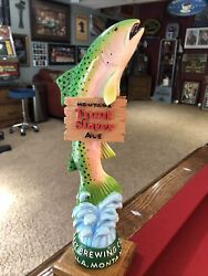 *NEW* Big Sky Brewery Trout Slayer Beer Tap Handle $219.99