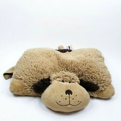 Pillow Pet Large 18quot; Soft Brown Plush Dog Puppy Toy Bedding $12.08