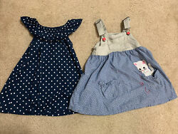 Two Dresses For Girls Size 2T $10.00