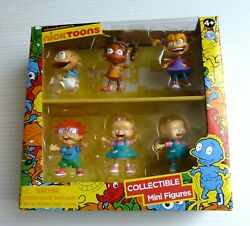 "Nickelodeon's Nicktoons Collectible Mini Figures ""Rugrats"" Rare NEW $46.95"