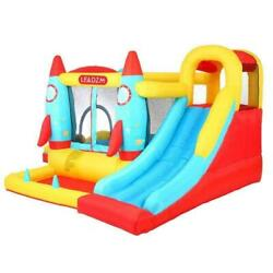 LEADZM BH 113 Inflatable Bounce House Kids Castle Jumper Slide with Air Blower $229.59