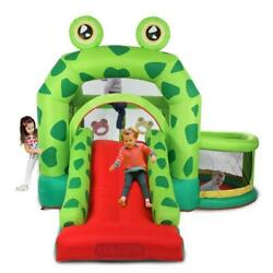 LEADZM Inflatable Bounce House Kids Castle Jumper Slide Boy Girl Air Blower $198.90