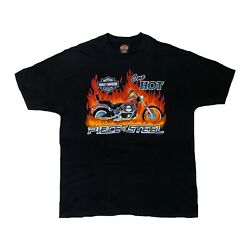 Harley Davdison T Shirt Vintage One Hot Piece Of Steel XL 1997 $50.00