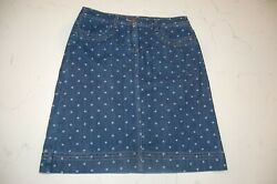 Boden Skirt with Polka Dots Size US size 10 $35.00